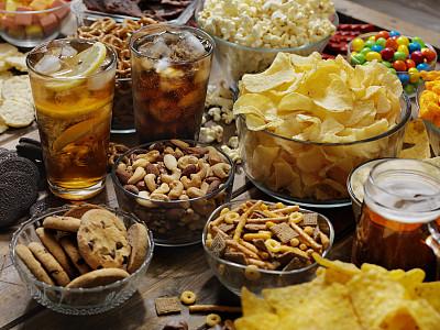 小吃,甜食,组物体,完美,喝醉的,苏打,巧克力条,暗色,糖果,甜点心