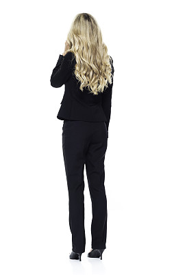 女商人,智能手机,金色头发,成年的,仅成年人,青年人,专业人员,白领,商务人士