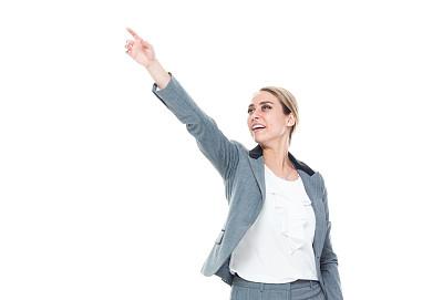 女商人,套装,正面视角,自然美,灰发,衣服,商务,专业人员,背景分离,一个人