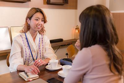 商务,图像,咖啡馆,会议,日本人,成年的,仅成年人,青年人,女商人,经理