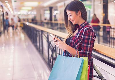 少女,购物中心,威斯敏斯特购物中心,自然美,拿着,顾客,原生数字,儿童,看,女孩