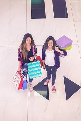 购物中心,乐趣,少女,威斯敏斯特购物中心,自然美,城市生活,肖像,拿着,儿童,童年