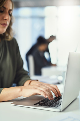 商务,电子邮件,新的,专业人员,部分,技术,现代,创作行业,仅女人,仅一个女人