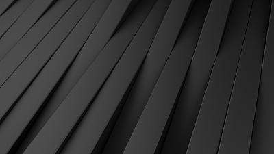 背景,三维图形,极简构图,抽象,黑色,空的,几何形状,技术,简单,现代