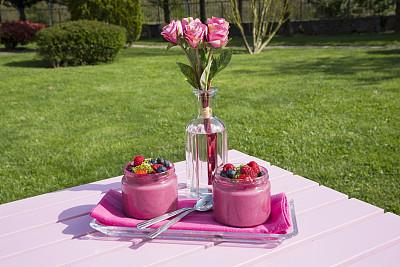 粉色,玉兰类,甜点心,户外,白昼,红色,玻璃,可爱的,清新,图像