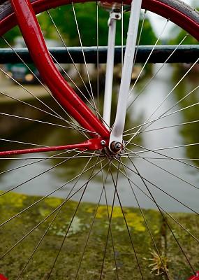自行车,底盘,脚踏车,红色,车轮,符号,运动,轮辐棍,垂直画幅,轮胎