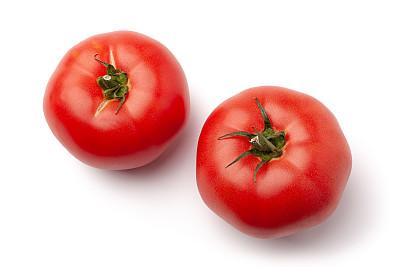清新,西红柿,白色背景,分离着色,活力,农业,素食,蔬菜,健康保健,波兰