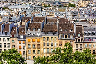 城市天际线,古城,巴黎,城市生活,法国,广场,著名景点,户外,城市
