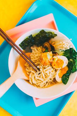 日本,碗,面条,饮食产业,日本食品,东方食品,金针菇,餐具,食饮供应
