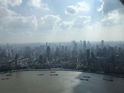 上海,浦西,云,商业金融和工业,东亚,河流,股市和交易所,东方明珠塔,户外,金茂大厦