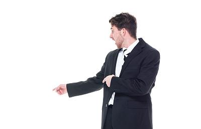 男商人,套装,黑色,在之后,衣服,成年的,仅成年人,青年人,专业人员