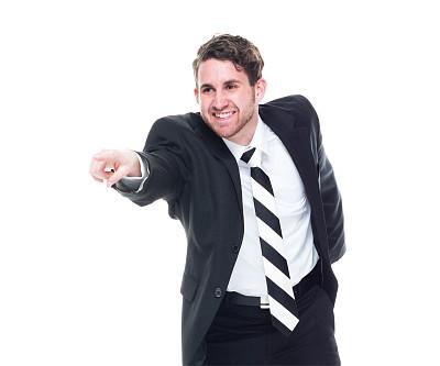男商人,套装,正面视角,黑色,衣服,商务,经理,专业人员,背景分离