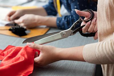 衣服,女性,裁缝,工作场所,专业人员,热情,纺织品,一个人,人种,女人