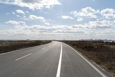 前进的道路,野生植物,陆地,旅途,沥青,云景,自由,云,公路,自然美