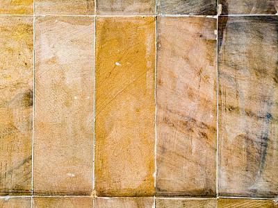 砖,背景,古老的,纹理效果,圆石,线条,彩色背景,地板,复古风格,瓷砖
