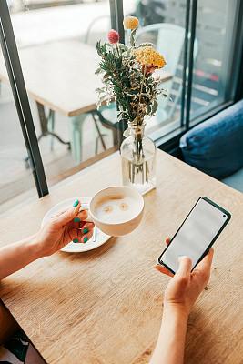 互联网,羊毛帽,咖啡,永远,时间,专业人员,杯,法国,技术,顾客