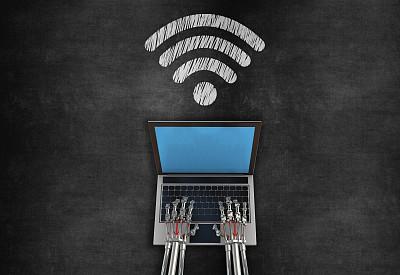 无线技术,黑板,部分,云景,技术,云,蓝牙,商业金融和工业,想法