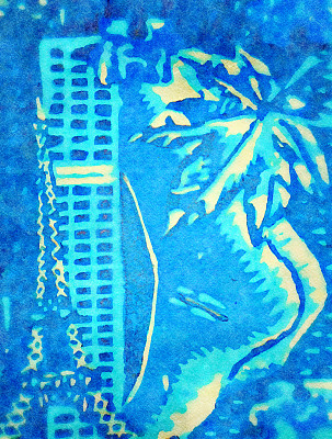 水彩画,绘画插图,抽象拼贴画,高雅,创造力,水彩画颜料,垂直画幅,图像,艺术,新西兰