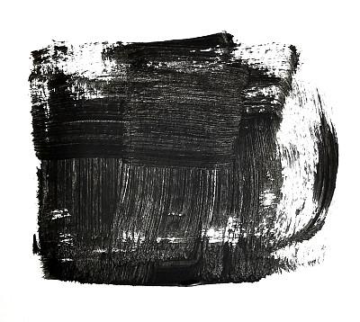 画笔,黑白图片,纹理效果,水彩颜料,白色背景,背景分离,塞尔维亚,图像,水滴,肮脏的