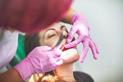 牙齿矫正器,专业人员,药,舒服,商业金融和工业,诊疗室,仅女人,商务人士