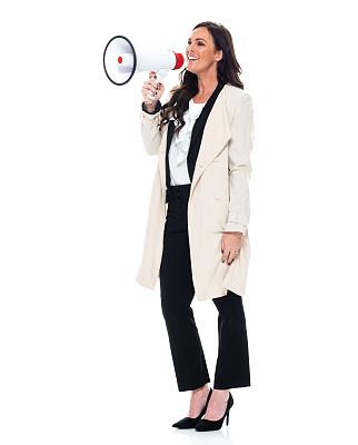 40到44岁,全身像,商务人士,女商人,女性,成年的,长发,正装,经理,军用防水短上衣