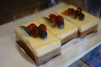 乳酪蛋糕,清新,切片食物,覆盆子,横截面,奶泡,纽约,部分,蛋糕,泰国