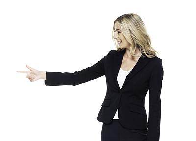 一个人,青年女人,20到29岁,半身像,主持人,幸福,商务人士,女商人,套装,女性