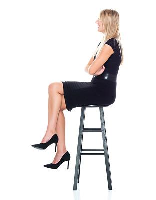 全身像,商务人士,女商人,女性,高跟鞋,成年的,长发,正装,一个人,青年女人