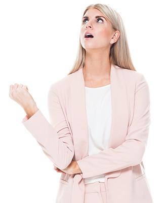 一个人,青年女人,20到29岁,金色头发,半身像,商务人士,女商人,套装,女性,商务休闲