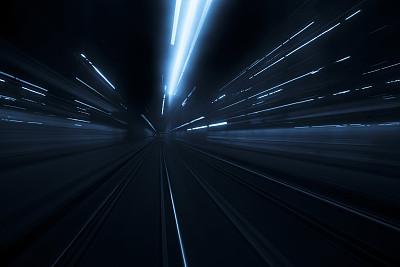 运动模糊,长时间曝光,城市,抽象,在活动中,高对比度,旅途,暗色,尾灯,光亮