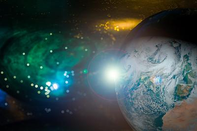 太空,秘密,球体,暗色,技术,行星,星系,夜晚,地球,平流层