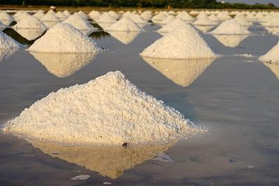 堆,田地,食盐,农作物,农业,香料,热带气候,云,泰国,钠