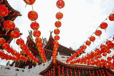 春节,天后宫,元宵节,传统,灯笼,中国灯笼,传统节日,现代,著名景点,户外