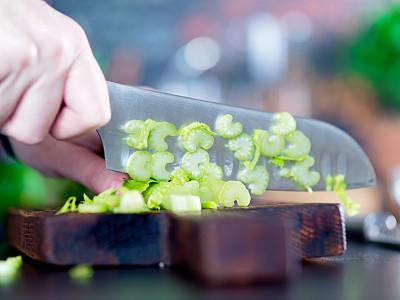 健康食物,水,饮料,芹菜,蔬菜,清新,食品,玻璃杯,罗勒,绿辣椒