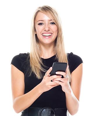 商务人士,青年女人,连衣裙,手机,白色人种,衣服,电子邮件,专业人员,肖像,商业金融和工业
