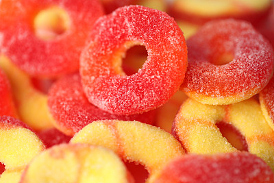 糖果,酸味,白色背景,饮食,食品,图像,美国,甜点心,甜食,童年