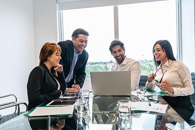 办公室,团队,做计划,拉丁文,人群,商务,专业人员,计算机,40到44岁,技术