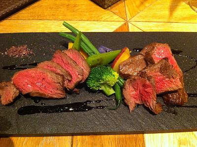 日本,黑色,牛排,格子烤肉