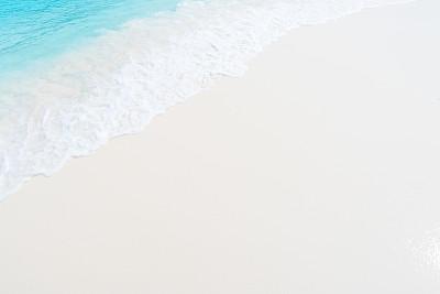 波形,沙子,海滩,海洋,柔和,透明,青绿色