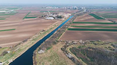 无人机,河流,摄像机拍摄角度,摄影