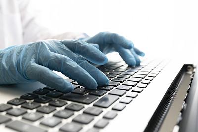 使用手提电脑,手,医生,速度滑冰,部分,科技,医药职业,科学实验,医疗流程,打字