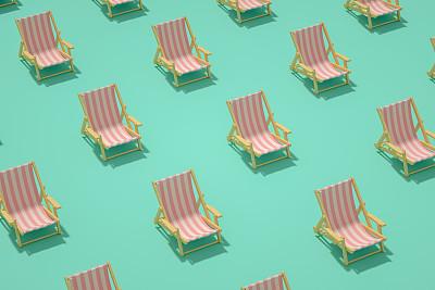 极简构图,户外椅,夏天,概念,旅途,舒服,热带气候,简单,椅子,现代