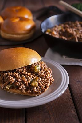 乔氏大三明治,小圆面包,清新,面包,食品,研磨食品,烹调,午餐