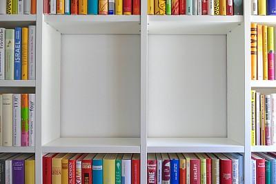 图书馆,无人,盒子,精装书,2020,书店,住宅内部,木制,纸,大量物体