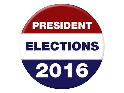 白昼,美国,2016,国际著名景点,一个物体,背景分离,损失,选民登记,证章,珠针