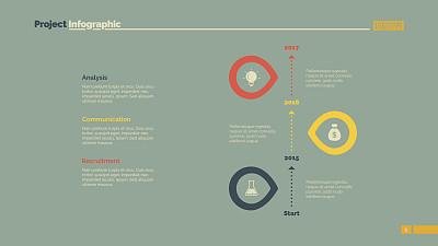 时间轴,模板,信息图表,图表,新创企业,台阶,橙色,策略,书页,计算机