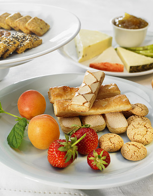 水果,饼干,奶酪,红色,垂直画幅,食品,图像,草莓,无人,烘焙糕点