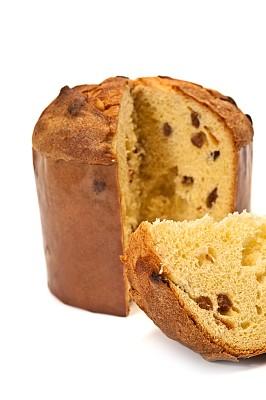 潘纳多尼面包,传统,蛋糕,水果蛋糕,垂直画幅,饮食,干果,食品,圣诞蛋糕,庆祝