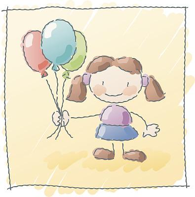 气球,人,幸福,快乐,多色的,童年,一个人,乐趣,庆祝,聚会