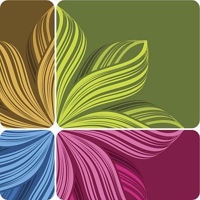 条纹,背景,复杂,自然,水平画幅,镶嵌图案,形状,褐色,绿色,紫色